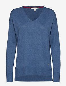 Sweaters - GREY BLUE 5