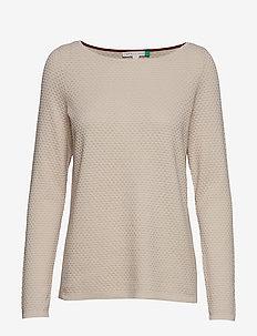 Sweaters - BEIGE 5