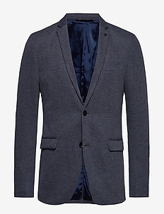 Blazers knitted - GREY BLUE