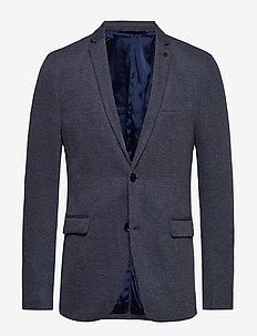 Blazers knitted - GREY BLUE