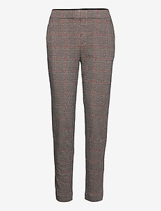 Pants woven - casual trousers - camel