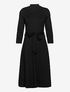 Dresses knitted - midi kjoler - black