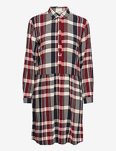 Dresses light woven - skjortekjoler - navy 3