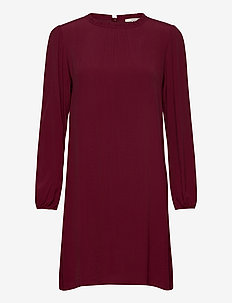 Dresses light woven - korte kjoler - bordeaux red