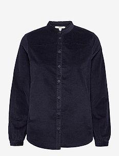 Blouses woven - blouses à manches longues - navy