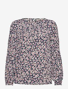 Blouses woven - blouses à manches longues - navy 4