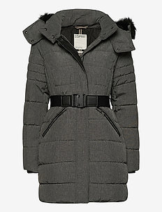 Coats woven - manteaux d'hiver - anthracite 5