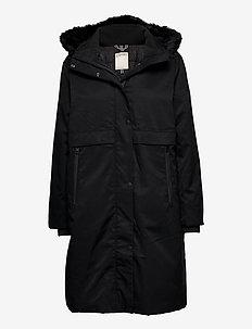 Coats woven - parkatakit - black