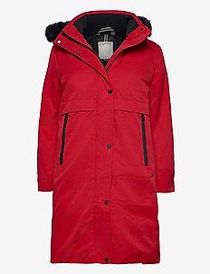 Coats woven - parkas - dark red