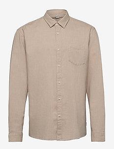 Shirts woven - casual shirts - beige 5