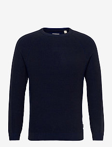 Sweaters - basic knitwear - navy 5