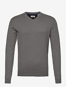 Sweaters - basic gebreide truien - medium grey 5