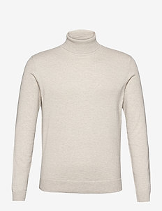 Sweaters - basic gebreide truien - light beige 5