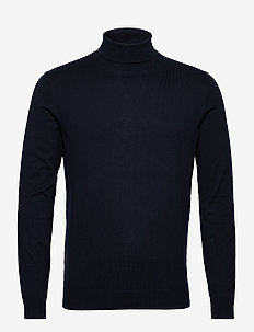 Sweaters - basic knitwear - navy
