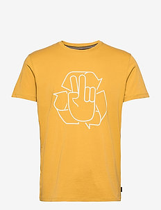T-Shirts - short-sleeved t-shirts - amber yellow
