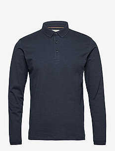 Polo shirts - lange mouwen - navy 5