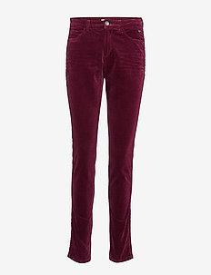Pants woven - GARNET RED