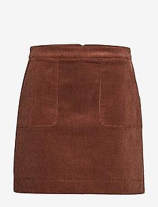 Skirts woven - DARK BROWN