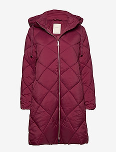 Coats woven - BORDEAUX RED