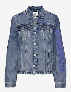 Jackets outdoor denim - BLUE MEDIUM WASH