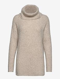 Sweaters - pulls à col roulé - cream beige 5