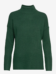 Sweaters - rullekraver - bottle green 5