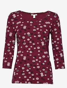 T-Shirts - GARNET RED 3