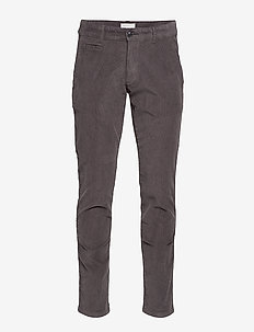Pants woven - casual broeken - dark grey
