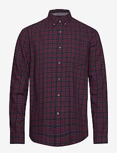 Shirts woven - casual overhemden - bordeaux red