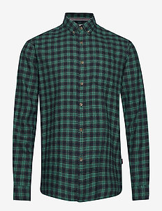 Shirts woven - TEAL GREEN