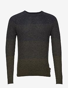 Sweaters - DARK KHAKI