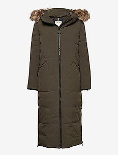 Coats woven - manteaux d'hiver - dark khaki