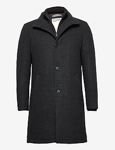 Coats woven - wool coats - anthracite 5