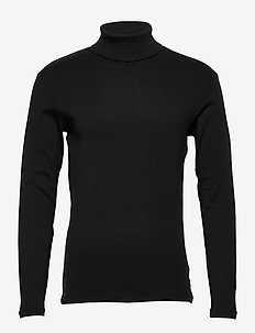T-Shirts - basic gebreide truien - black