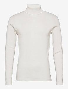 T-Shirts - basic gebreide truien - off white