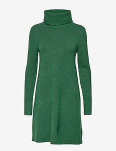 Dresses flat knitted - BOTTLE GREEN 5