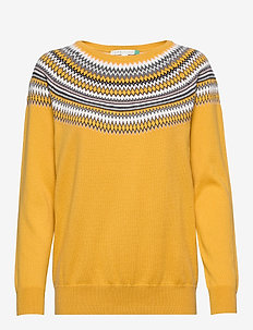 Sweaters - HONEY YELLOW 2