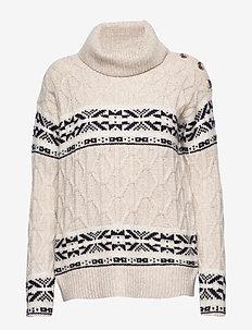 Sweaters - LIGHT BEIGE 5