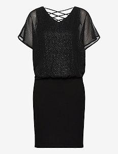 Dresses light woven - korta klänningar - black 3