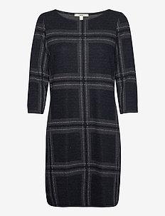 Dresses knitted - robes midi - gunmetal 5