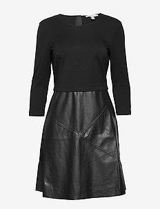 Dresses woven - BLACK