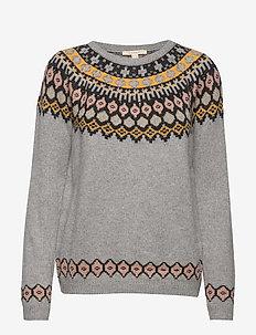 Sweaters - LIGHT GREY 2