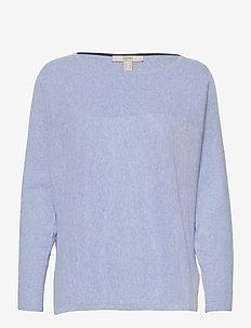 Sweaters - truien - pastel blue
