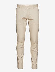 Pants woven - LIGHT BEIGE