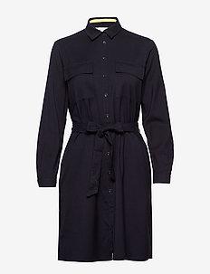 Dresses woven - skjortekjoler - navy