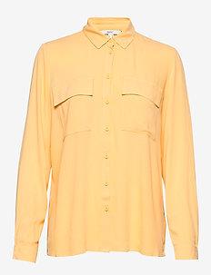 Blouses woven - langærmede bluser - yellow