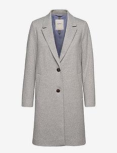 Coats woven - villakangastakit - light grey 5