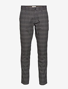 Pants woven - formele broeken - dark grey 3