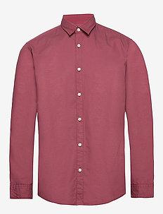 Shirts woven - basic overhemden - bordeaux red 4