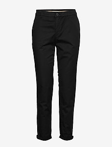 Pants woven - chinos - black
